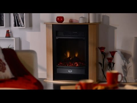 Dimplex Figaro Optiflame® Electric Fireplace Suite