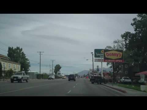 A drive through Bishop, CA
