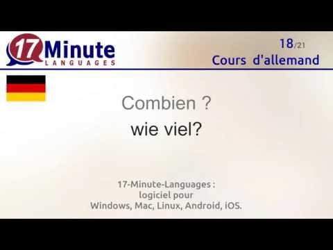 Cours d'allemand gratuit (vidéo)
