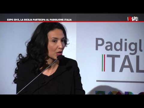 [Novembre 2013] LINDA VANCHERI: LA SICILIA PARTECIPA AL PADIGLIONE ITALIA