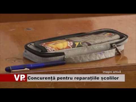 Concurență mare pentru reparațiile școlilor