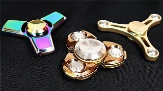 Video BEST METAL FIDGET SPINNERS (SUPER RARE!) MP3, 3GP, MP4, WEBM, AVI, FLV Mei 2017
