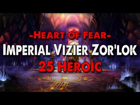 Method vs Imperial Vizier Zor'lok (25 Heroic) World First Video