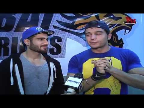 Karan Tacker and Gaurav Khanna's Reunion on Mumbai Warrior's Practice Session