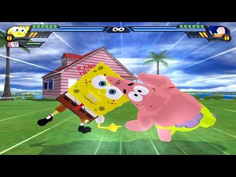 SpongeBob and Patrick Fusion   Bobtrick Star-Pants   DBZ Tenkaichi 3 (MOD)