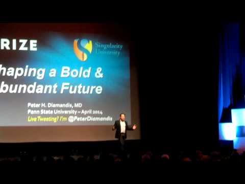 Peter Diamandis, the Nittany Lion, and Photobombing Vlog #10