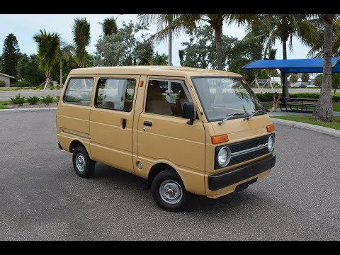1983 Daihatsu Hijet in the USA - POV Walk Around and Long Drive