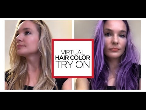 Matrix Virtual Hair Color Try On