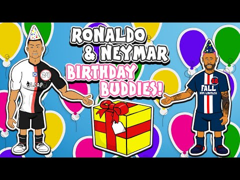 🎁Ronaldo & Neymar: Birthday Buddies🎁