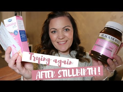 TTC UPDATE || TRYING TO CONCEIVE AGAIN AFTER STILLBIRTH