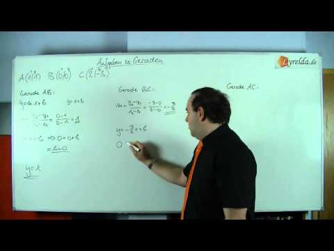 Geraden - Lösung 2