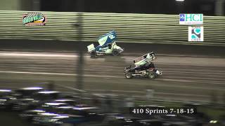 Knoxville 7-18-15 410 sprints inverted feature