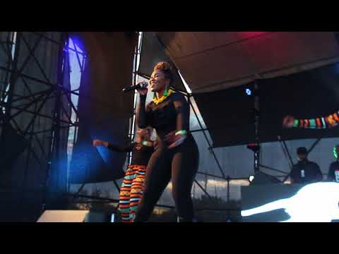 Lady Zamar Live On Stage F ink Party