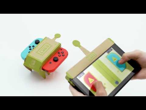 Nintendo Labo — трейлер