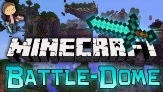 Minecraft: BATTLE-DOME Mini-Game w/Mitch&Friends! Part 2 - Battle Phase!
