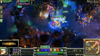 (HD034) PoV Sona Top ELO US 5c5 - part 1 - League of Legends Replays [FR]