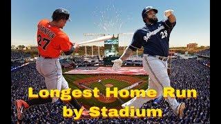 Video Longest Home Run In Every MLB Stadium MP3, 3GP, MP4, WEBM, AVI, FLV April 2019