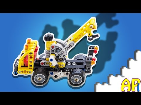 Vidéo LEGO Technic 42031 : Le camion nacelle