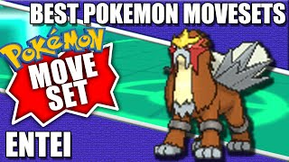 Here's an Entei Moveset for competitive Pokemon. All movesets are from Pokemonforever.com. Could also be called a Tornadus Build or how to use Entei.-Link to All Pokemon Movesets: http://pokemonforever.com/Forum-Competitive-Pokemon-Movesets-Link to Giveaway: https://gleam.io/vdnTb/pokemon-champion-cynthia-figure-giveaway-----------------------------------------------------------------------------------------------------------►►Where To Find Me◄◄-Pokemon Trading/Battle forum: http://pokemonforever.com-Twitter: http://twitter.com/thejustinflynn-Twitch: http://twitch.tv/thejustinflynn-Subscribe on YouTube: http://www.youtube.com/subscription_center?add_user=thejustinflynn-----------------------------------------------------------------------------------------------------------►►MORE VIDEOS◄◄-How To Become a Pro Pokemon Player: https://www.youtube.com/watch?v=_4FUOwuMKhI&list=UU0cqkGpdSBUGdjycy2PlpEw-Pokemon Then & Now Series: https://www.youtube.com/playlist?list=PL8Eh2eCoqtddkbSOd2GUTqSAe00pMOQM5-Shiny Pokemon Catches: https://www.youtube.com/playlist?list=PL8Eh2eCoqtdcKvw2L5OGFNqxBnwWW7UQK-Pokemon Battle Playlist: https://www.youtube.com/playlist?list=PL8Eh2eCoqtdfLVQL_LHJBJYIDPrRILjHV-Pokemon Tutorials Playlist: https://www.youtube.com/playlist?list=PL8Eh2eCoqtdftS4GwJX6_lhJol60NiRgb