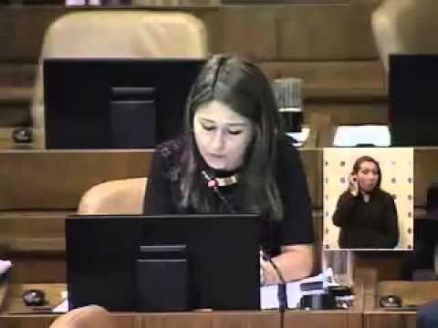 Intervención en el congreso Claudia Nogueira
