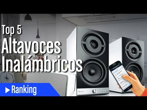 Top 5 Altavoces Inalámbricos