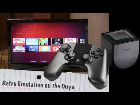 Retro Emulators on the Ouya: NES, SNES, Genesis, Gameboy Turbografx, NeoGeo & more