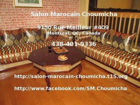 Salon Marocain Choumicha | Fabrication Des Salons Marocains Traditionnels  Et Modernes à Montréal