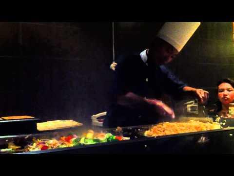 Teppanyaki at Grand Riviera Princess Hotel