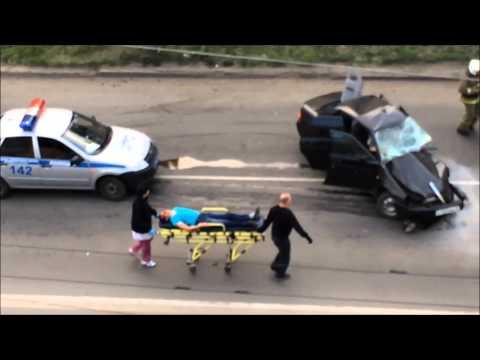 Смертельная гонка [Страшное ДТП в Кургане] (видео)