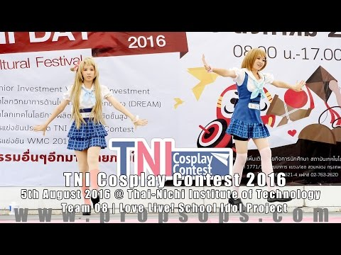 TNI Cosplay Contest 2016 | Team 8 – Love Live! School Idol Project
