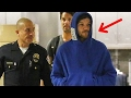 Footage Shows One Direction Louis Tomlinson Being Arrested After 'Hitting' Fan !!
