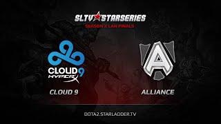 Cloud9 vs Alliance, game 1
