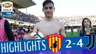 Video Benevento - Juventus 2-4 - Highlights - Giornata 31 - Serie A TIM 2017/18 MP3, 3GP, MP4, WEBM, AVI, FLV Mei 2018