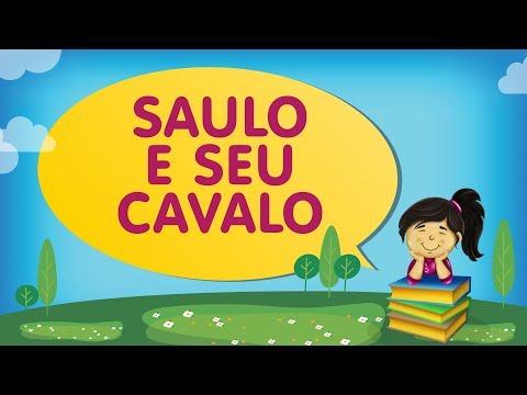 SAULO E SEU CAVALO - com a Tia Érika