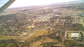 Brookings (SD) United States  city images : South Dakota State University flyover - Brookings departure