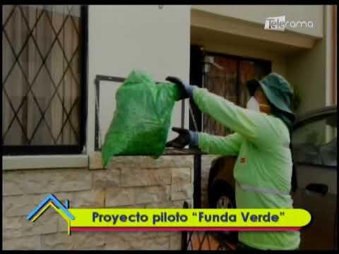 "Proyecto piloto ""Funda Verde"""