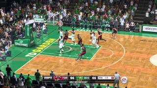 NBA 2014 - Toronto Raptors Vs Boston Celtics - 4th Qrt - NBA LIVE 15 PS4 - HD
