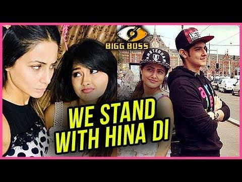 Kanchi Singh and Rohan Mehra MISS Hina Khan And SU