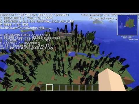 【Minecraft】エンダーマンの逃げ場をなくしたらどうなるのか!? 【実験】