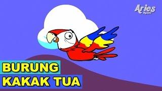 Lagu Kanak Kanak Alif & Mimi - Burung Kakak Tua (Animasi 2D)