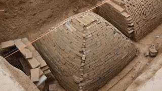 Mystery of the 'pyramid of China: Archaeologists discover strange tomb under a construction site