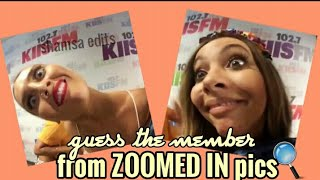 Can YOU guess the member from ZOOMED IN pics? ● Little Mix