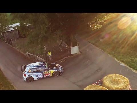 Vídeo la marca de drones DJI se une al WRC Mundial de Rallyes 2016