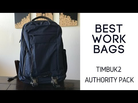 Best Work Backpacks: Timbuk2 The Authority Pack Review