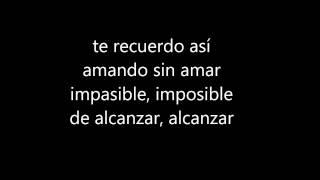 Luis Miguel Fria como el viento Letra