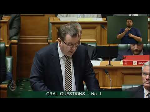 Question 1 - Dr Duncan Webb To The Minister Of Finance