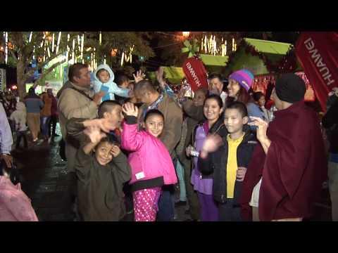 Inauguración Festival Navideño ¡todo un éxito!