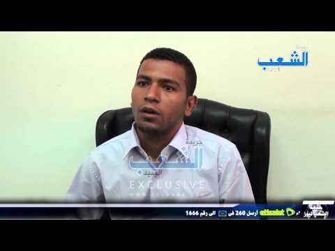 انفراد| لقاء خاص مع المحامى الذى أحرق صورة وزير الداخلية بوقفة النقابة