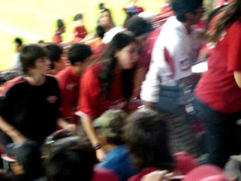 Llegada de los REDiablos al Nelson Oyarzún - Los REDiablos - Ñublense
