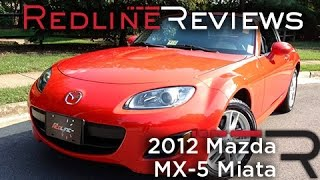 2012 Mazda MX-5 Miata Review, Walkaround, Exhaust,&Test Drive